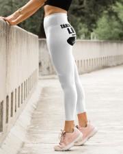 Lineman Taken by a crazy Lineman High Waist Leggings aos-high-waist-leggings-lifestyle-23