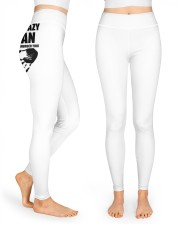 Lineman Taken by a crazy Lineman High Waist Leggings front
