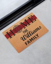 """Firefighter Home  Doormat 34"""" x 23"""" aos-doormat-34-x-23-lifestyle-front-09"""