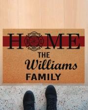 """Firefighter Home  Doormat 34"""" x 23"""" aos-doormat-34-x-23-lifestyle-front-10"""