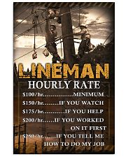 Lineman  11x17 Poster front
