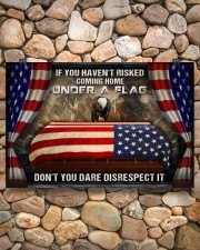 Veteran Under a flag  36x24 Poster aos-poster-landscape-36x24-lifestyle-14