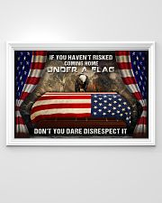 Veteran Under a flag  36x24 Poster poster-landscape-36x24-lifestyle-02