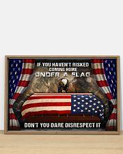 Veteran Under a flag  36x24 Poster poster-landscape-36x24-lifestyle-03