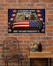 Veteran Under a flag  36x24 Poster poster-landscape-36x24-lifestyle-20