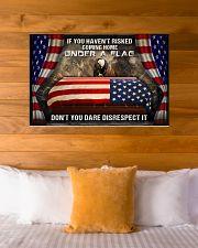 Veteran Under a flag  36x24 Poster poster-landscape-36x24-lifestyle-23