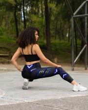 Police Leggings CMT High Waist Leggings aos-high-waist-leggings-lifestyle-13