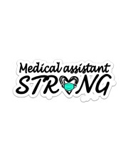 Strong058 Medical Assistant Sticker - Single (Vertical) front