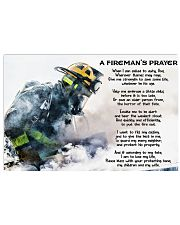 Firefighter Prayer 17x11 Poster front