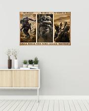 Veteran No bullet no shell 36x24 Poster poster-landscape-36x24-lifestyle-01