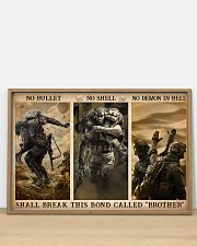 Veteran No bullet no shell 36x24 Poster poster-landscape-36x24-lifestyle-03