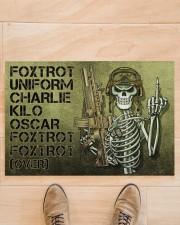 """Veteran Foxtrot  Doormat 34"""" x 23"""" aos-doormat-34-x-23-lifestyle-front-02"""