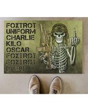 """Veteran Foxtrot  Doormat 34"""" x 23"""" aos-doormat-34-x-23-lifestyle-front-04"""