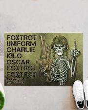 """Veteran Foxtrot  Doormat 34"""" x 23"""" aos-doormat-34-x-23-lifestyle-front-06"""
