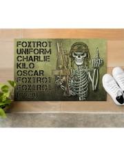 """Veteran Foxtrot  Doormat 34"""" x 23"""" aos-doormat-34-x-23-lifestyle-front-12"""