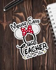 Teacher Mouse ears Sticker - Single (Vertical) aos-sticker-single-vertical-lifestyle-front-05