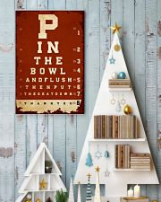 Optometrist flush then out the seat down 24x36 Poster lifestyle-holiday-poster-2