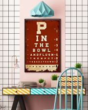 Optometrist flush then out the seat down 24x36 Poster lifestyle-poster-6