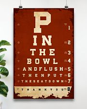 Optometrist flush then out the seat down 24x36 Poster poster-portrait-24x36-lifestyle-19