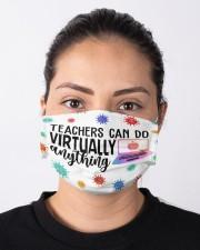 Teachers can do virtually anything Cloth face mask aos-face-mask-lifestyle-01