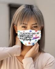 Teachers can do virtually anything Cloth face mask aos-face-mask-lifestyle-18