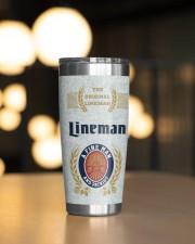 Lineman Hook it 20oz Tumbler aos-20oz-tumbler-lifestyle-front-04