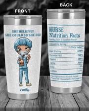 Nurses She believed she could 20oz Tumbler aos-20oz-tumbler-lifestyle-front-55