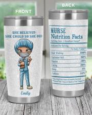 Nurses She believed she could 20oz Tumbler aos-20oz-tumbler-lifestyle-front-59