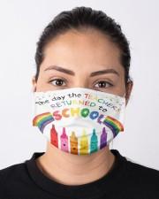 Teacher To school Cloth face mask aos-face-mask-lifestyle-01