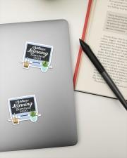 Teacher317a Distance Learning Survivor Sticker - 2 pack (Vertical) aos-sticker-2-pack-vertical-lifestyle-front-19
