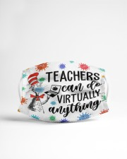 Teachers can do virtually anything Cloth face mask aos-face-mask-lifestyle-22