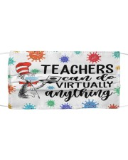 Teachers can do virtually anything Cloth face mask front