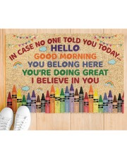 """Teacher In case no one told you today Doormat 34"""" x 23"""" aos-doormat-34-x-23-lifestyle-front-03"""