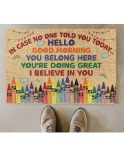 """Teacher In case no one told you today Doormat 34"""" x 23"""" aos-doormat-34-x-23-lifestyle-front-04"""