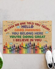 """Teacher In case no one told you today Doormat 34"""" x 23"""" aos-doormat-34-x-23-lifestyle-front-06"""