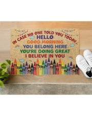 """Teacher In case no one told you today Doormat 34"""" x 23"""" aos-doormat-34-x-23-lifestyle-front-12"""