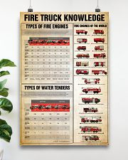 Firefighter Fire truck knowledge  24x36 Poster poster-portrait-24x36-lifestyle-19