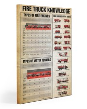 Firefighter Fire truck knowledge  20x30 Gallery Wrapped Canvas Prints thumbnail