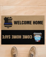 """Police Come home safe p2 Doormat 34"""" x 23"""" aos-doormat-34-x-23-lifestyle-front-02"""