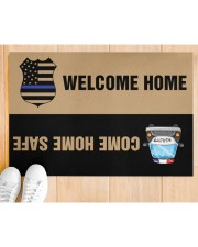 """Police Come home safe p2 Doormat 34"""" x 23"""" aos-doormat-34-x-23-lifestyle-front-03"""