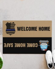 """Police Come home safe p2 Doormat 34"""" x 23"""" aos-doormat-34-x-23-lifestyle-front-06"""