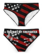 Firefighter Taken by my firefighter Women's Briefs aos-womens-aos-briefs-ghosted-front-02