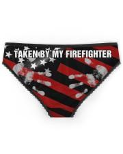 Firefighter Taken by my firefighter Women's Briefs back