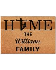 """Lineman Home Doormat 34"""" x 23"""" front"""