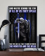Police Between the monster and the weak  24x36 Poster lifestyle-poster-2