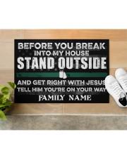 """Veteran Before you break into my house 0604 Doormat 34"""" x 23"""" aos-doormat-34-x-23-lifestyle-front-12"""