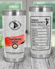 Lineman Smokin' Hot 20oz Tumbler aos-20oz-tumbler-lifestyle-front-59