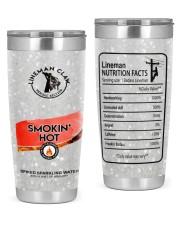 Lineman Smokin' Hot 20oz Tumbler front