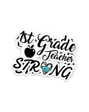Strong048 1st Sticker - 2 pack (Vertical) front