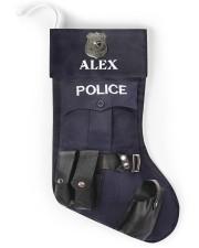 Police Christmas Stocking Christmas Stocking back